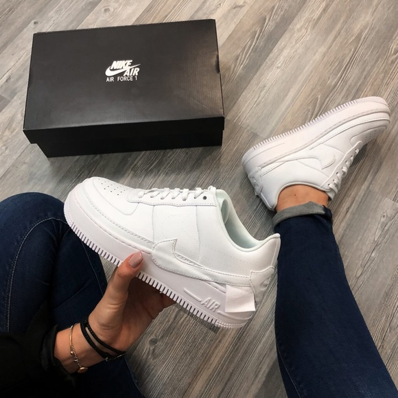 Brand New Nike Air Force 1 Jester Xx Triple White Nwt